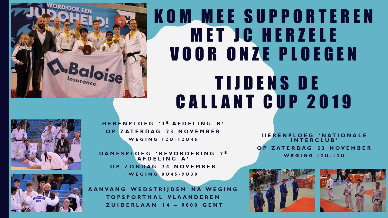 INTERCLUB CALLANT CUP